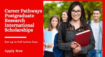 CQUniversityCareer Pathways Postgraduate Research international awards in Australia