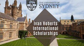 Ivan Roberts international awards at University of Sydney in Australia, 2020