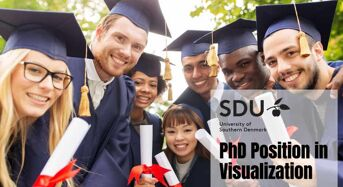 PhD Position in Visualization for International Students at University of Southern Denmark, 2020