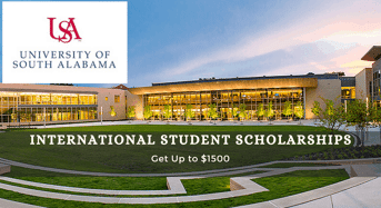 University of South Alabama International Student Scholarships in USA