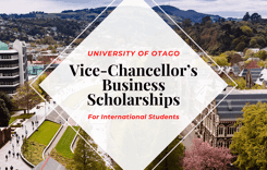 Vice-Chancellor's Business Scholarships for International Students in New Zealand