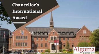 Chancellor's Award for International Students at Algoma University, 2020