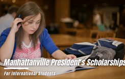 International President's Scholarships at Manhattanville College, USA