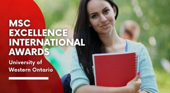 Richard Ivey Business School MSc Excellence International Awards in Canada, 2020