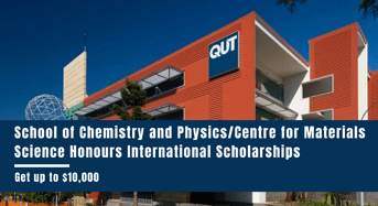 School of Chemistry and Physics/ Centre for Materials Science Honours international awards in Australia