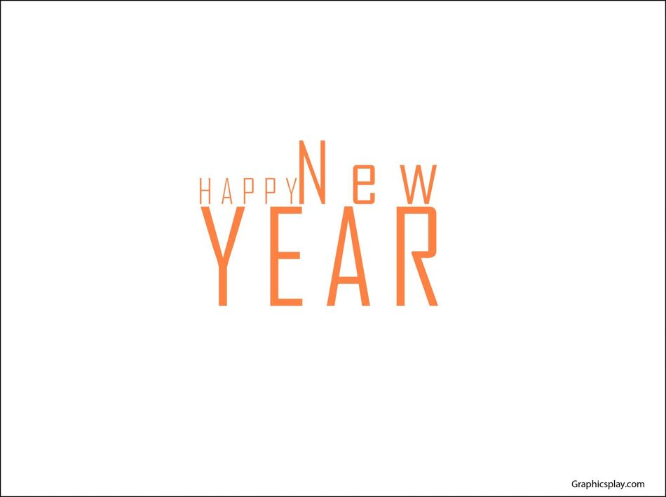 Simple New Year Greeting