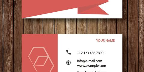Business Card Design Vector Template - ID 1689 7