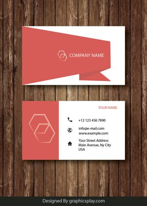 Business Card Design Vector Template - ID 1689 20