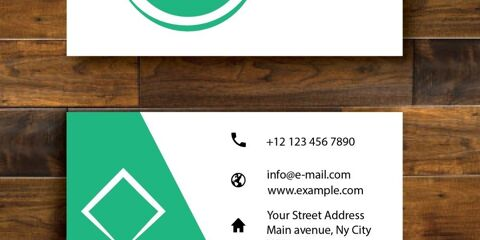 Business Card Design Vector Template - ID 1690 10