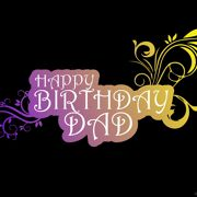 Happy Birthday Dad Beautiful Greeting 4