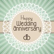 Happy Wedding Anniversary Simple Greeting 2