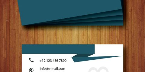 Business Card Design Vector Template - ID 1706 23