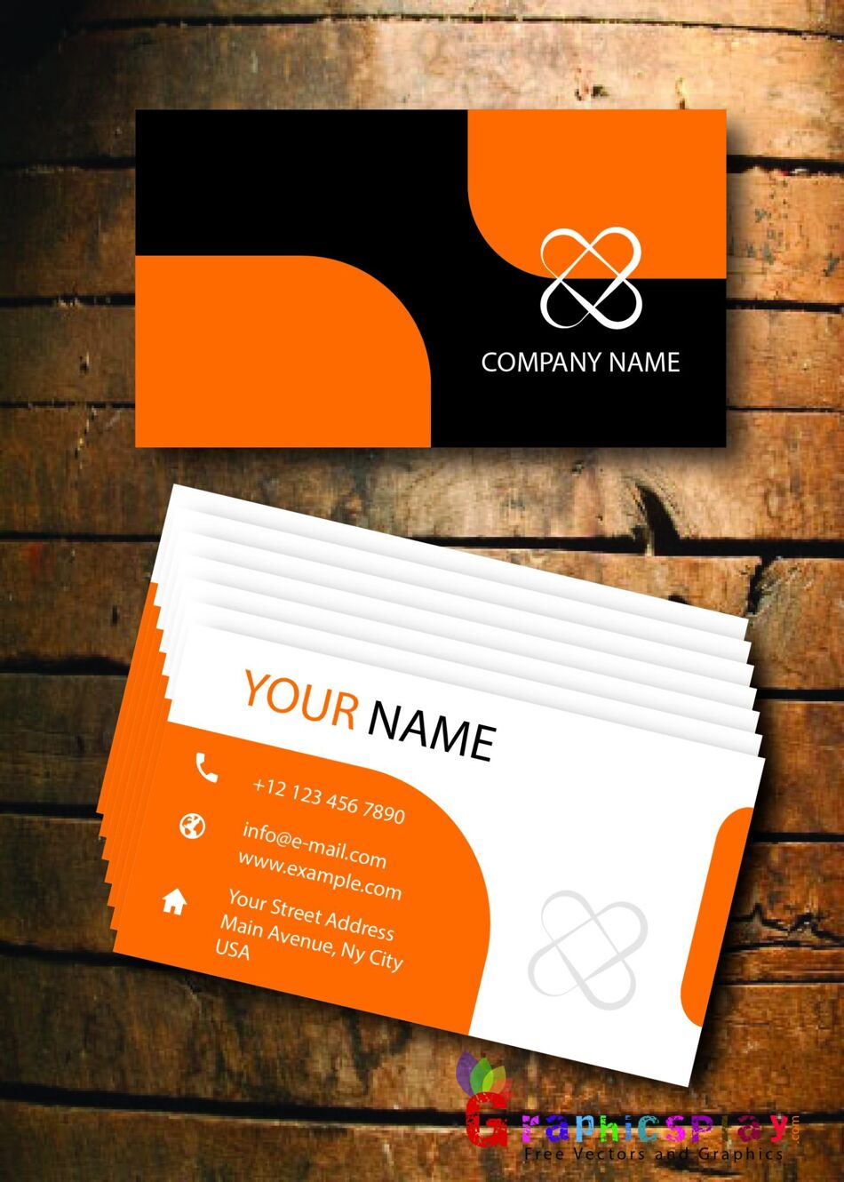 Business Card Design Vector Template - ID 1712 1