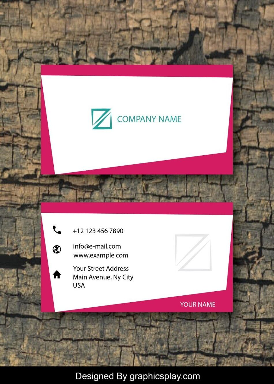 Business Card Design Vector Template - ID 1715 1