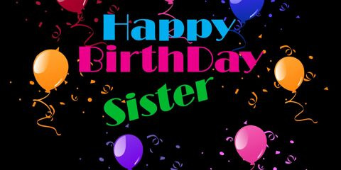 Happy Birthday Sister Beautiful Greeting 4