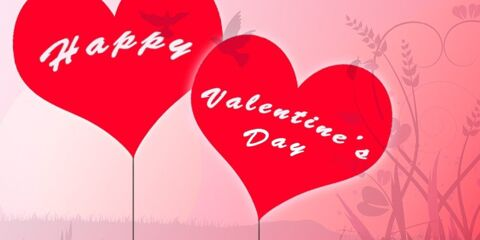 Happy Valentines Day Greeting With Love 9