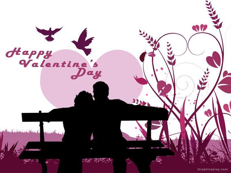 Happy valentines Day Couple Greeting 1