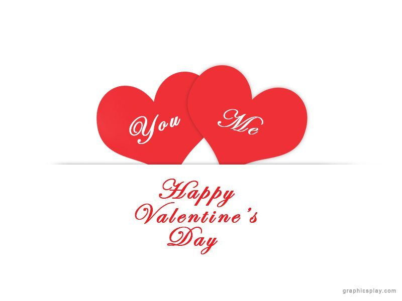 Simple Valentine's Day Greeting 1