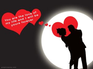 Happy Valentine's  Day Couple Greeting With Quotes 17