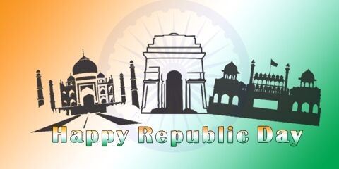 Happy Republic Day Indian Greeting 4