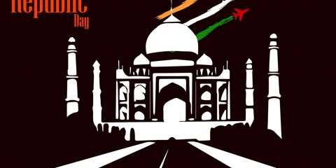 Beautiful Happy Republic Day Indian Greeting 4