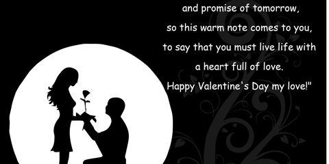 Happy Valentine's Day Greeting -2170 2