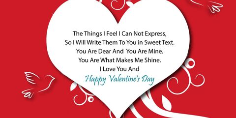 Happy Valentine's Day Greeting -2169 1