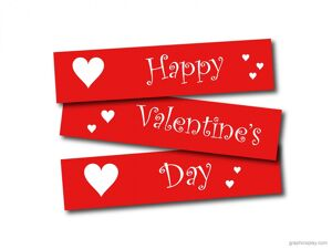 Happy Valentine's Day Greeting -2207 7