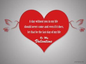 Happy Valentine's Day Greeting -2208 5