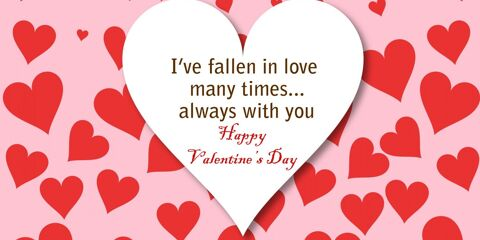 Happy Valentine's Day Greeting -2168 2
