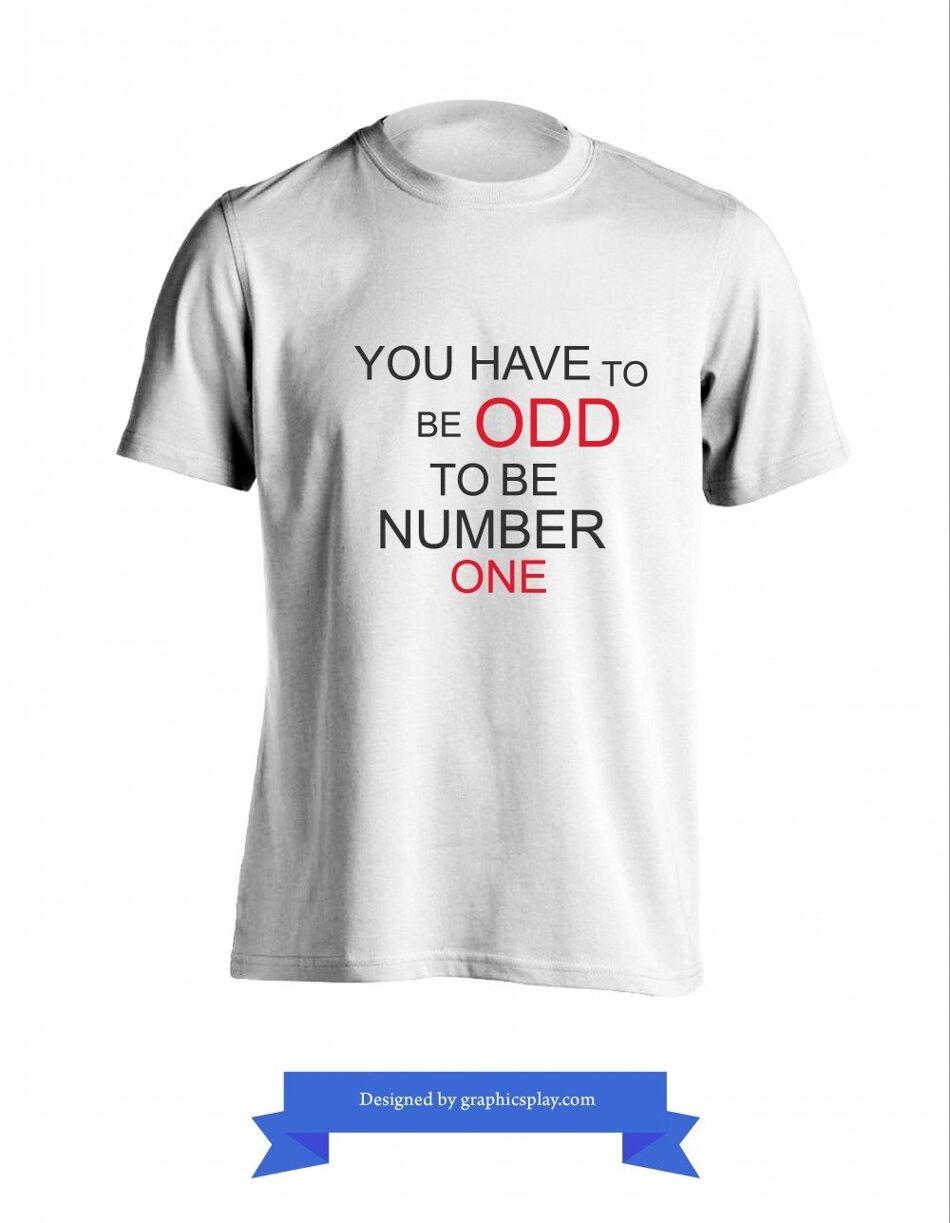 T-Shirt Design Vector ID-2033 1