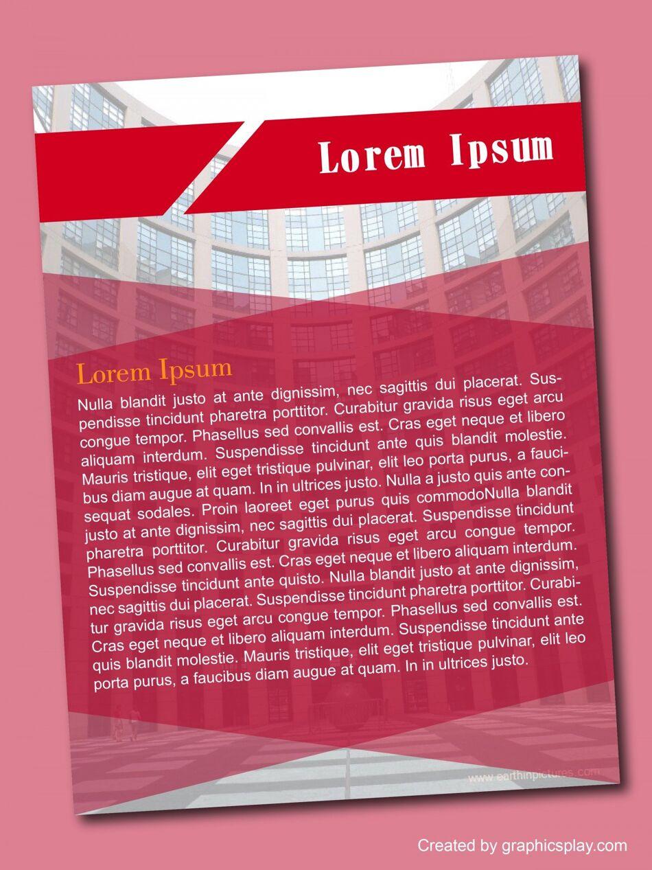 Flyer Design Template ID - 3099 1
