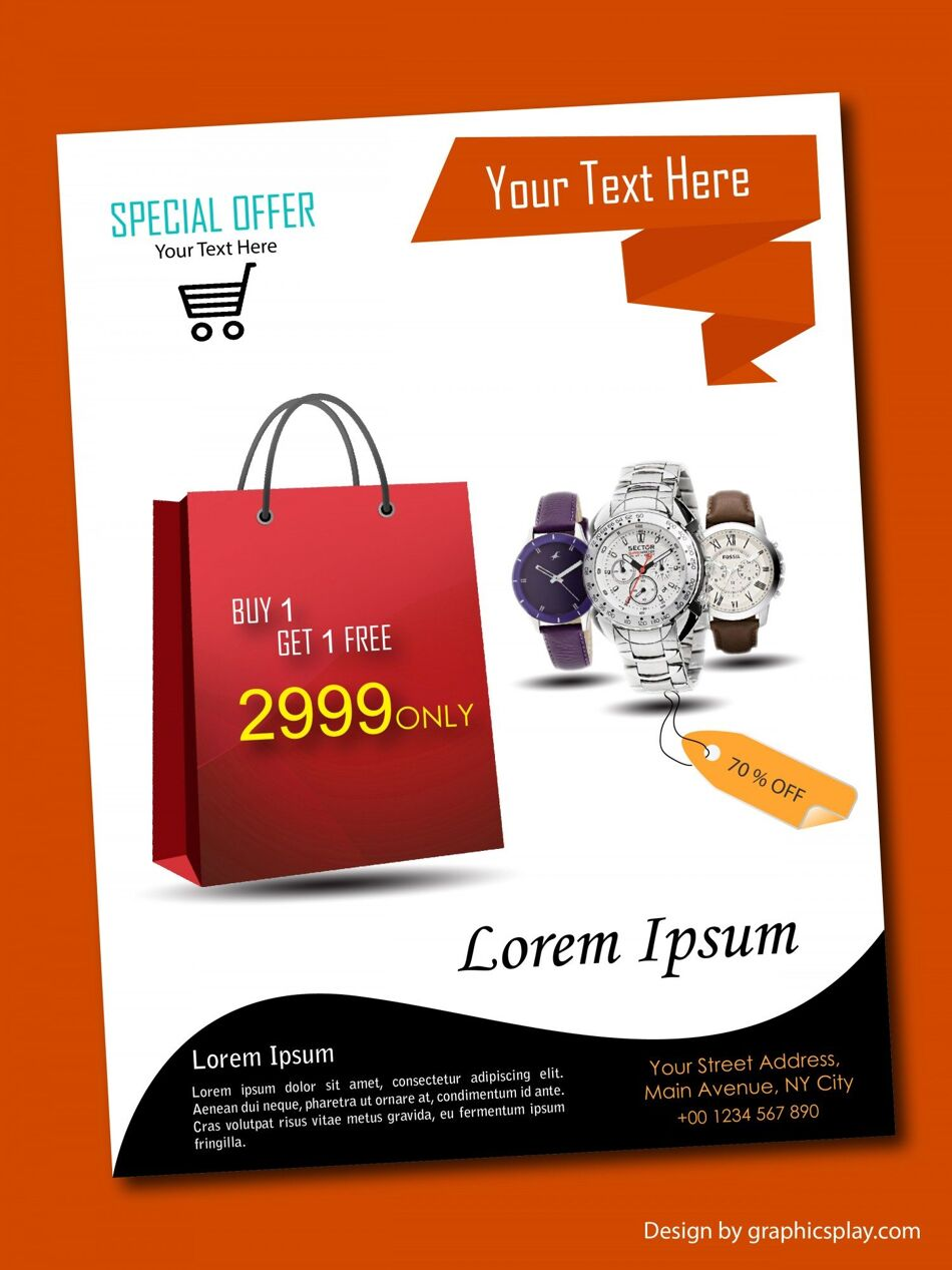 Flyer Design Template ID - 3182 1