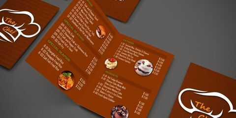 Brochure Design Template ID - 3501 4