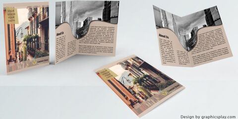 Brochure Design Template ID - 3475 3