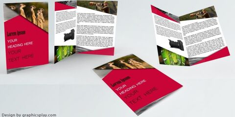Brochure Design Template ID - 3481 5