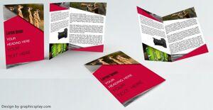 Brochure Design Template ID - 3481 8