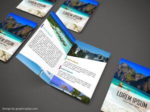 Brochure Design Template ID - 3480 6