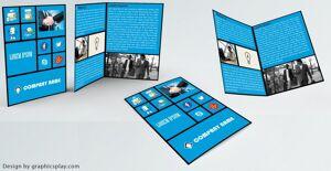 Brochure Design Template ID - 3514 8