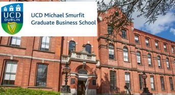 100% Tuition Fees MBA International Scholarships at UCD Smurfit School in Ireland, 2018