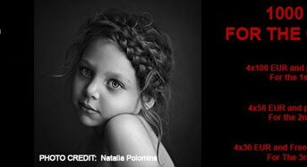 5th Annual International Photo Competition in B&W Child Photography, 2018