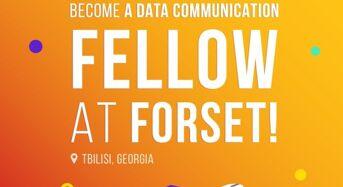 Data Communication YearLong Fellowship at ForSet in Georgia, Tbilisi, 2019