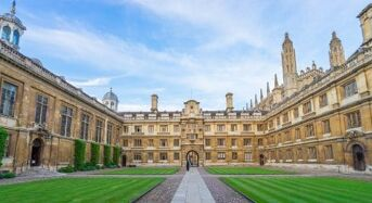 CTR Graduate Studentships for UK, EU and Overseas Students at University of Cambridge in UK, 2019