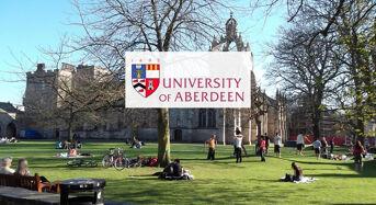 SFC Postgraduate Tuition Fee Scholarships at University of Aberdeen in UK, 2019