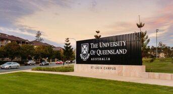University of Queensland QAEHS PhD Scholarship Scheme for International Students in Australia, 2019