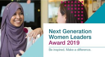 McKinsey & Company Next Generation Women Leaders Award for Female Students and Professionals, 2019