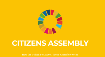 United For 2030 Citizens Assembly 12 Months Online Programme for Global Goals Development, 2019