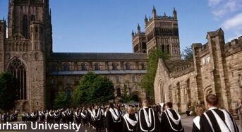 Fully Funded EPSRC Funded PhD Research Studentships at Durham University in UK, 2019