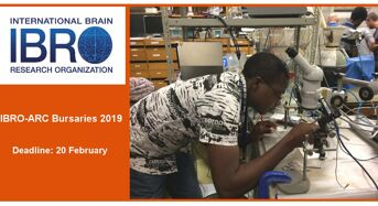 IBRO African Regional Committee Research Bursaries for African Researchers, 2019