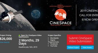 NASA CineSpace Competition for International Applicants, 2019